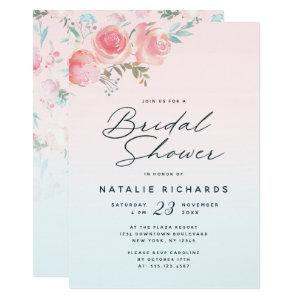 French Garden Floral Peony Wedding Bridal Shower Invitation starting at 2.55