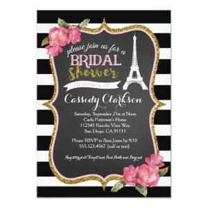 French Paris Bridal Shower invitation starting at 2.40