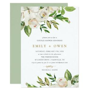 Gilded Blooms Couples Shower Invitation starting at 2.66