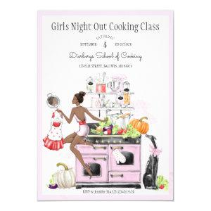 Girls Night Out Cooking Class Invitation starting at 2.40
