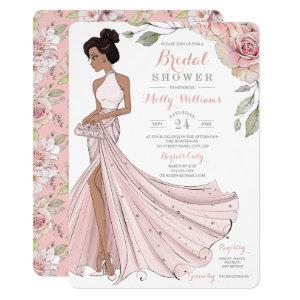 Glam Personalized Bride Bridal Shower Invitation starting at 2.60
