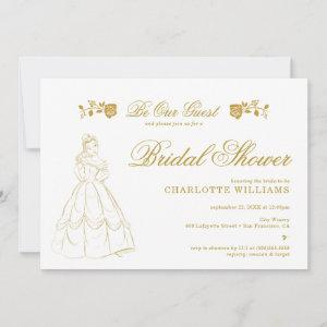 Gold Beauty and the Beast Bridal Shower starting at 2.62