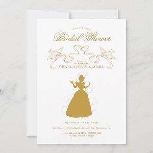Gold Cinderella Bridal Shower Save The Date starting at 2.62
