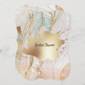 Gold marble geode texture DIY classy party starting at 2.65