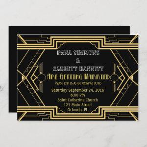 Gold Party Wedding Suite Ceremony Party Invitation starting at 2.45