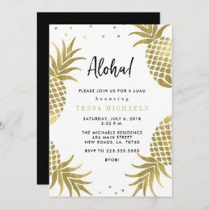 Gold Pineapple Luau Party starting at 2.56