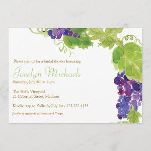 Grapes on the Vine Party Invitation starting at 2.61