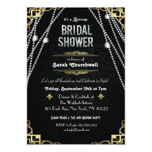 Great Gatsby Art Deco Bridal Shower Invitation starting at 2.61
