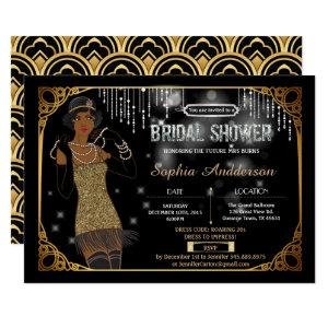 Great Gatsby bridal shower invitation African starting at 2.45