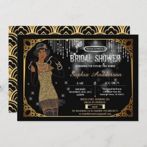 Great Gatsby bridal shower invitation African starting at 2.25