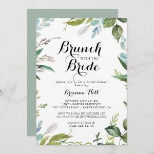 Greenery Calligraphy Brunch with the Bride Shower starting at 2.51