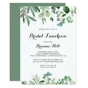 Greenery Eucalyptus Bridal Luncheon Bridal Shower Invitation starting at 2.51