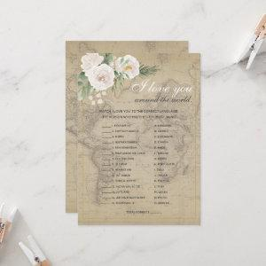 Guess the Language Travel theme Bridal Shower Invitation starting at 2.51