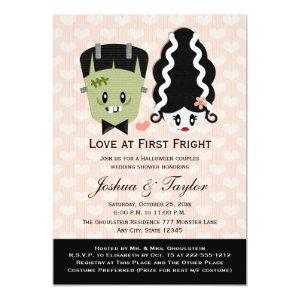 Halloween Couples Wedding Shower Invitations starting at 2.66