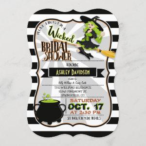Halloween Theme Witch Bridal Shower Invitation starting at 2.85