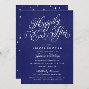 Happily Ever After Shower Invitations Royal Blue starting at 2.98