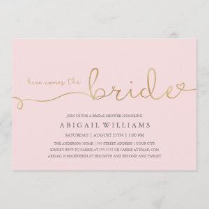 Here comes the bride dk -shower invitation starting at 2.35