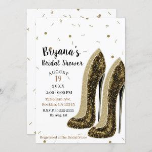 High Heels Fashion Shoes Glam Beauty Bridal Shower Invitation starting at 2.60