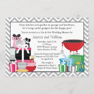His and Hers Wedding Shower Invitation starting at 2.98