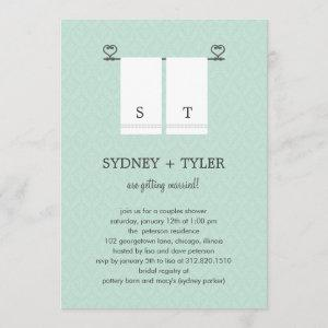 His and Hers Wedding Shower Invitation (Blue) starting at 2.51