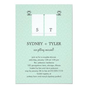 His and Hers Wedding Shower Invitation (Blue) starting at 2.61