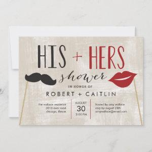His & Hers Couple Shower Invitation starting at 2.21