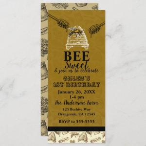 Honey Bee Beehive Birthday Party Event Ticket starting at 2.98