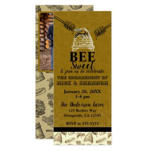 Honey Bee Beehive Engagement Party Event Ticket Invitation starting at 2.98