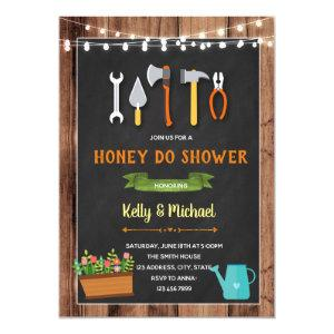 Honey do shower invitation starting at 2.50