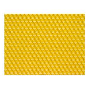 Honeycomb Background Gifts Template Postcard starting at 1.10