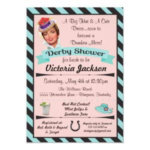 Horse Racing Derby Bridal Shower Invitations starting at 2.77