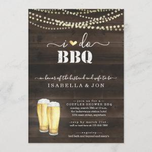 I Do BBQ Beer Couples Wedding Shower Engagement Invitation starting at 2.61