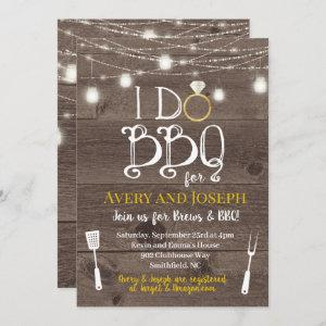 I Do BBQ Couple's Barbecue Shower Invitation starting at 2.66