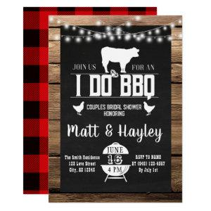I do BBQ Couples Shower Country Wooden Chalkboard Invitation starting at 2.55