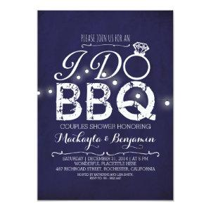I do BBQ couples shower invitation NAVY starting at 2.35