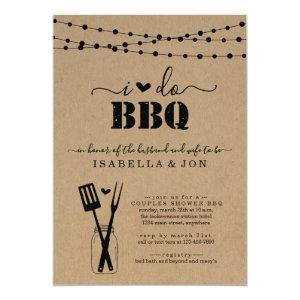 I Do BBQ Couples Wedding Bridal Shower Engagement Invitation starting at 2.61