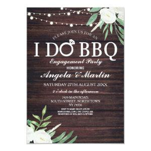I DO BBQ Engagement Party Couples Shower Invite starting at 2.51