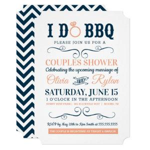 I Do BBQ - Poster Style Couples Wedding Shower Invitation starting at 2.80