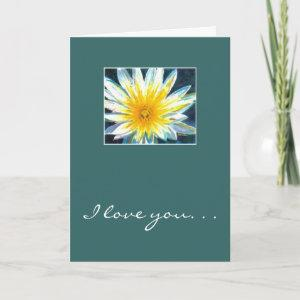 I love you. . .Just because you're you! Card starting at 3.65