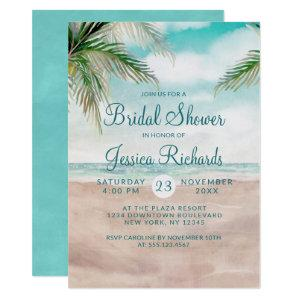 Island Breeze Tropical Beach Wedding Bridal Shower Invitation starting at 2.20