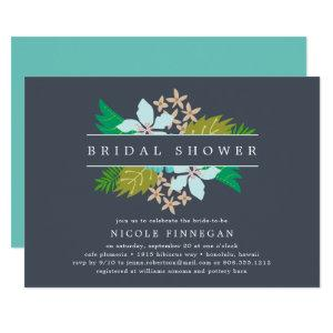 Island Flowers Bridal Shower Invitation starting at 2.51