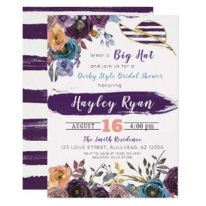 Kentucky Derby Style Fall Bridal Shower Invitation starting at 2.55