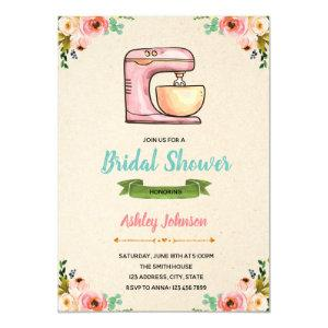 Kitchen shower party invitation card starting at 2.50