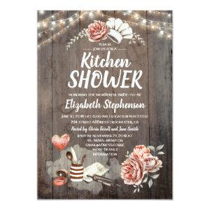 Kitchen Shower - Rustic Country Bridal Shower Invitation starting at 2.51