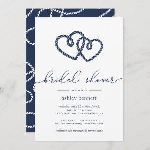 Knotted Hearts Bridal Shower Invitation starting at 2.51