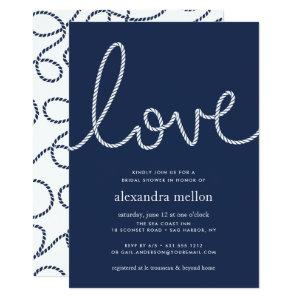 Knotted Love Bridal Shower Invitation starting at 2.51