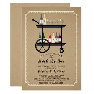 Kraft Stock the Bar Couples Shower Invitation starting at 2.40
