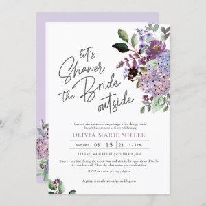Lavender Drive By Bridal Shower Invitation starting at 2.25