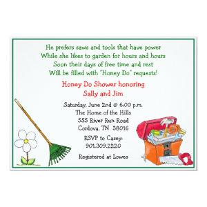 Lawn and Garden Bridal Shower Invitation starting at 2.66
