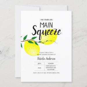 Lemon Bridal Shower Found Her Main Squeeze Invites starting at 2.40